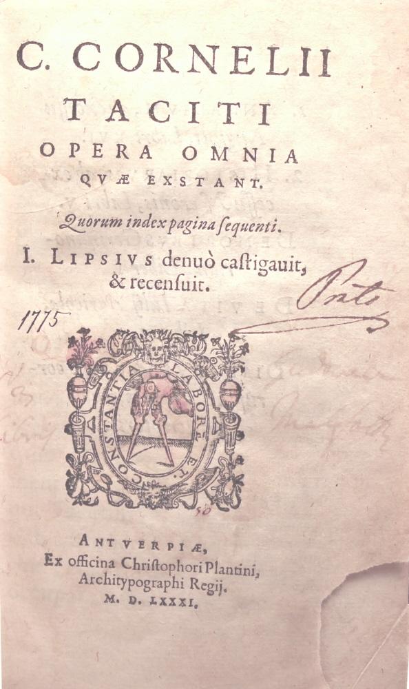 C. CORNELII TACITI